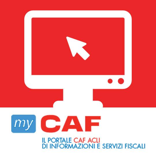 myCAF, il portale CAF ACLI di informazione e servizi fiscali